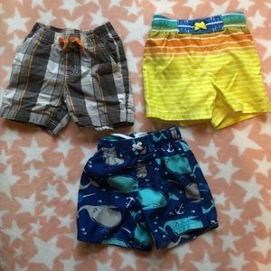 Circo 2T Trio of Swimsuit and shorts